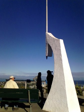 Nelson, Nueva Zelanda: Evidence of being at Centre of New Zealand
