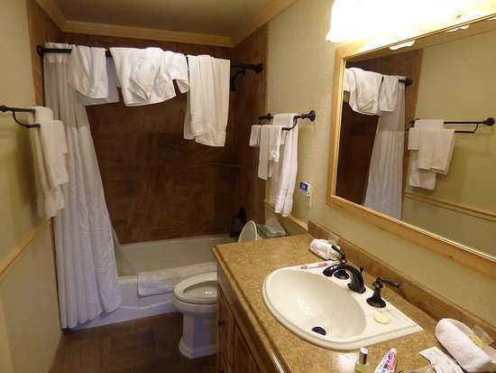 Gardiner, MT : 2 bed suite bathroom