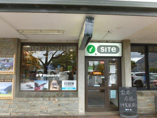 Wanaka, New Zealand: The i-SITE centre