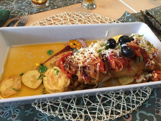 Alcobendas, Spanien: Bacalao con patatas fritas