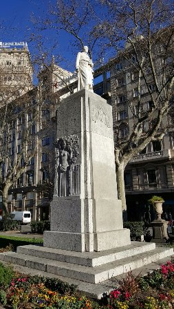 Monument to Joan Güell i Ferrer