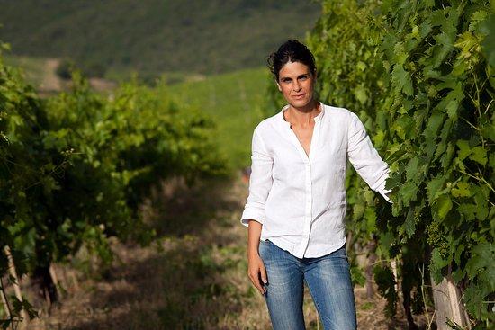 Montalcino, Italy: Cecilia Leoneschi, winemaker at Castiglion del Bosco