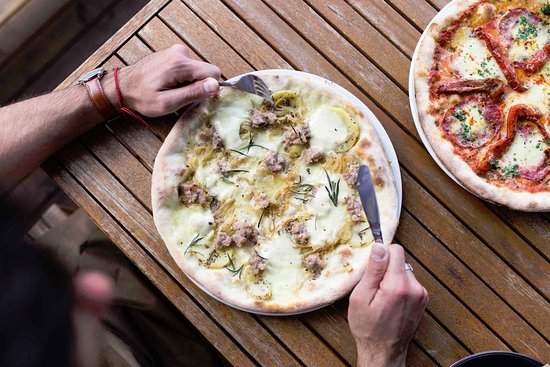 Moonee Ponds, Australia: Pizza Patate E Salsiccia