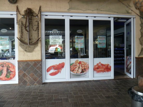 Southbroom, South Africa: Entrance to Fishermans Net Restaurant