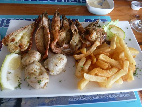 Southbroom, South Africa: Platter for one