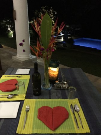 Niyagama House: Valentine's day dinner