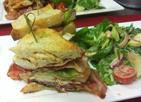 Kossen, Autriche : Club Sandwich