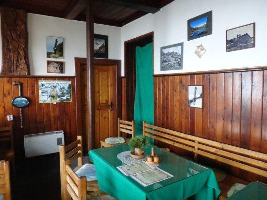 Vysoké Tatry, Slovensko: interiér chaty
