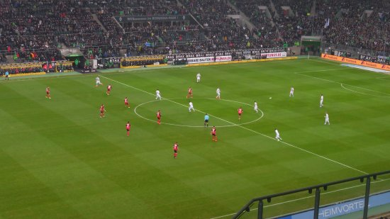 Borussia-Park: Kick off