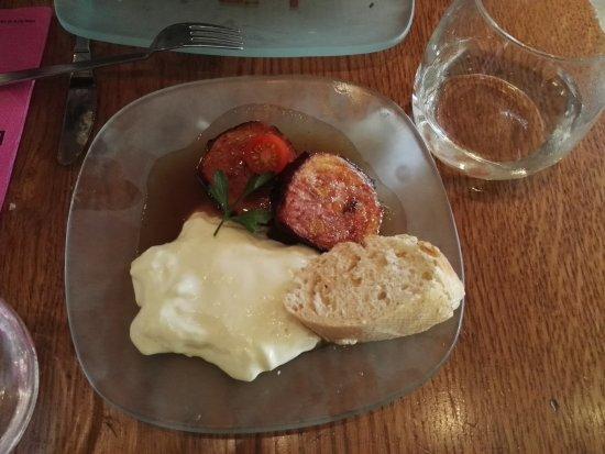 Restaurante Lateral Fuencarral: Muy bueno el acompañamiento