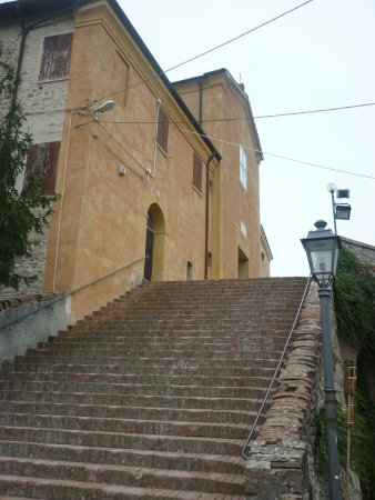 Savignano sul Panaro, Italië: la bella scalinata