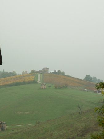 Savignano sul Panaro, Italië: vista panoramica dalla chiesa