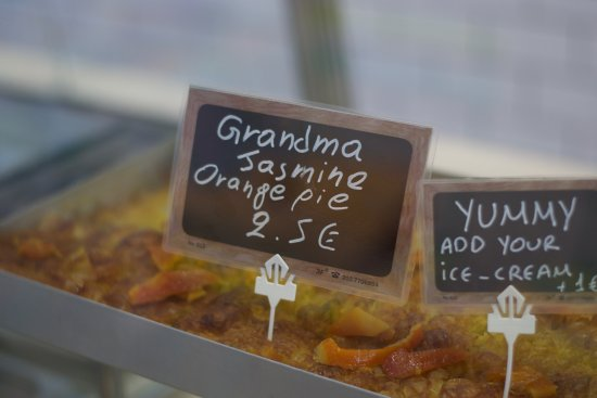 Ice Rolls: Orange Pie!!! Grandma Jasmine!