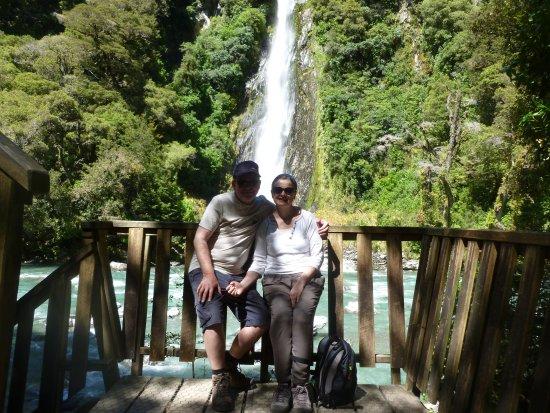 Роторуа, Новая Зеландия: Great backdrop for photographs