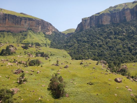 KwaZulu-Natal, Sudáfrica: Also a nice view on one of the hikes