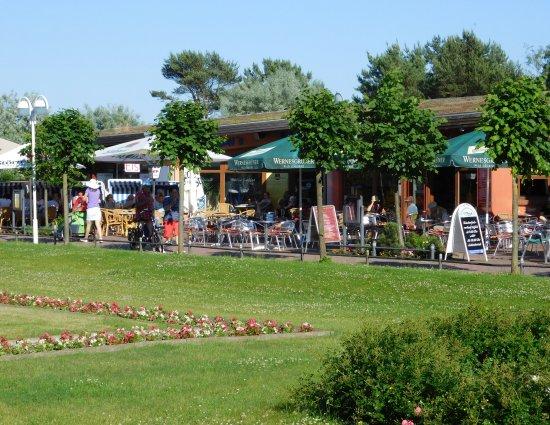 Остзеебад-Баабе, Германия: Občerstvení u pláže