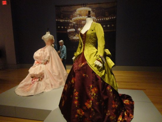 """Columbia Museum of Art : """"CUT-Costumes and the Cinema"""" These are from movie """"Phantom of the Opera"""""""