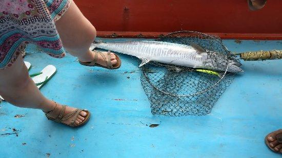 Bophut, Thailand: Mr.Tu Fishing Game