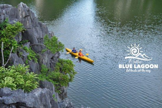 Catba Blue Lagoon