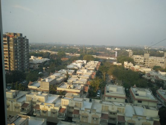 Ramada Ahmedabad: Outside view from room