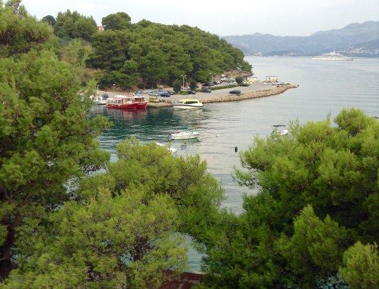 Hotel Cavtat: Balcony view