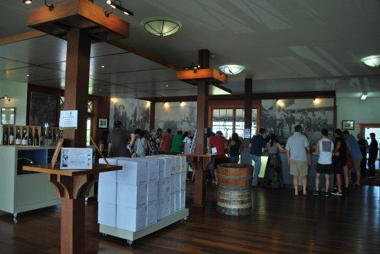 Pokolbin, Australien: The tasting room or 'cellar door' as they call it in Australia