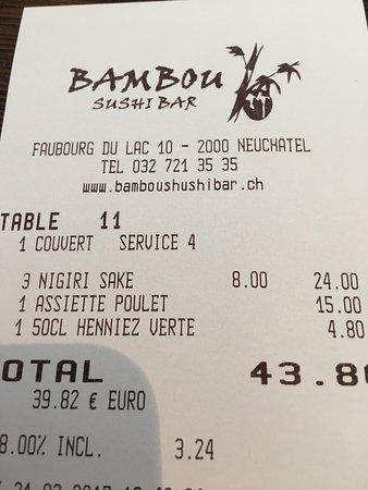 Bambou Sushi Bar: photo0.jpg