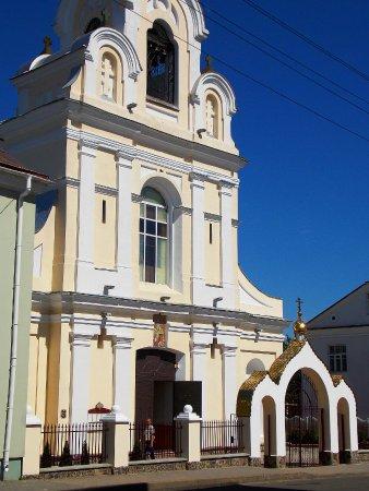 Navahradak, Białoruś: Храм православный, действующий. Бывший костёл ордена францисканцев