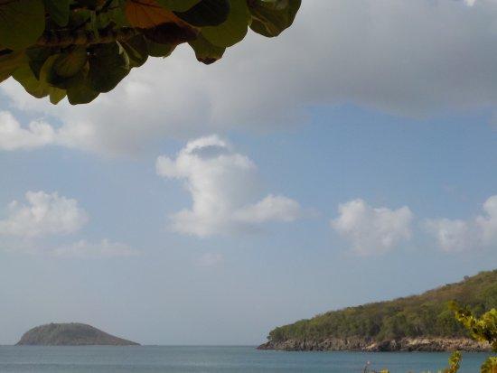 Deshaies, Guadeloupe: Plage superbe