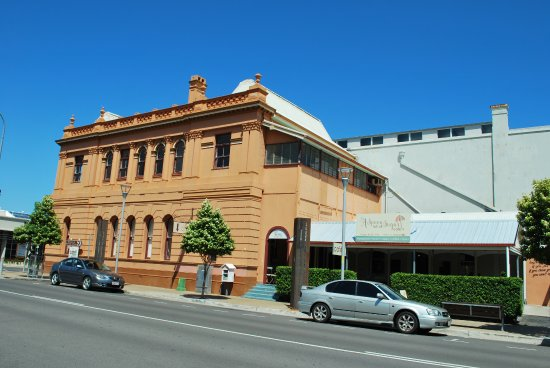 Maryborough, Australia: Building where P L Travers (then Helen Lyndon Goff) was born in 1899. Cafe to right.