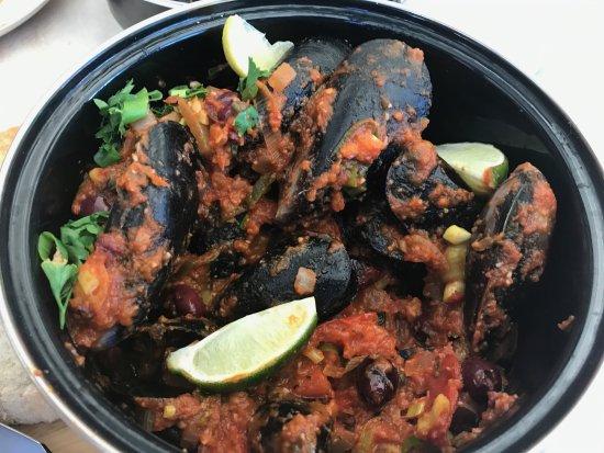 Glenelg, Australië: The inedible mussels