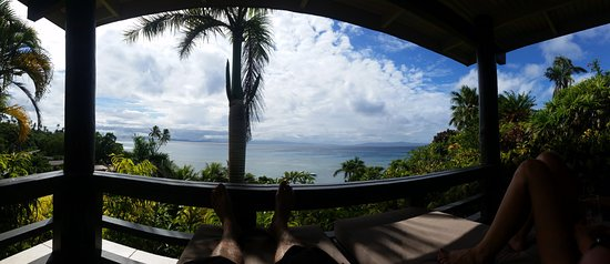 Taveuni Island Resort & Spa: view from the balcony