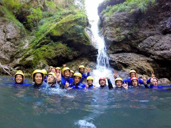 Bovec, Slovenia: Canyoning trip