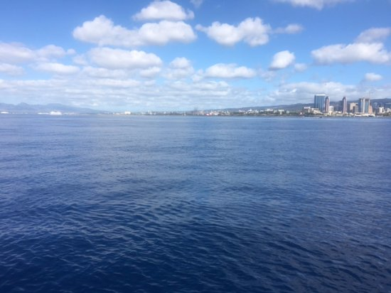 Rainbow Scuba Hawaii: Dive trip 2.17- view from boat