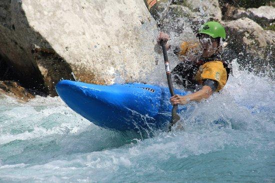 Bovec, Slovenia: White-water kayaking