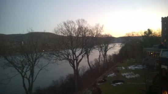 West Point, نيويورك: Hudson River view
