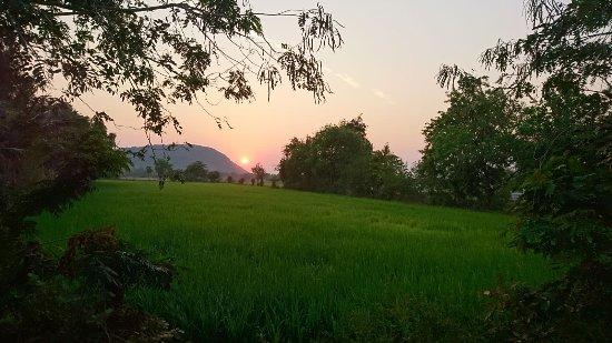 Battambang, Cambodia: Sunset