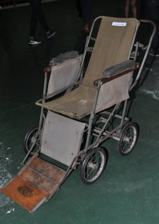 George, Güney Afrika: Old wheelchair