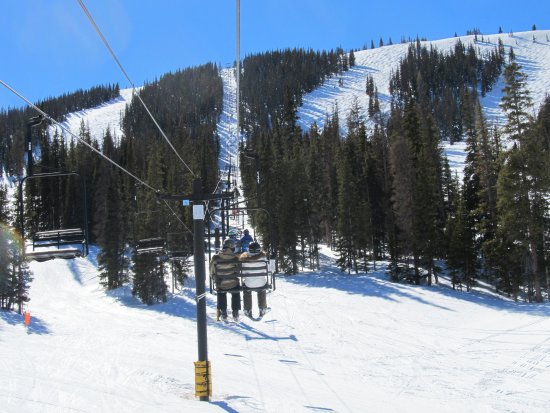 Monarch, CO: many trails to choose after peaceful ride on lift
