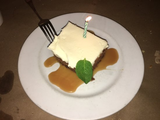 Groton, MA: Carrot cake - yummy!