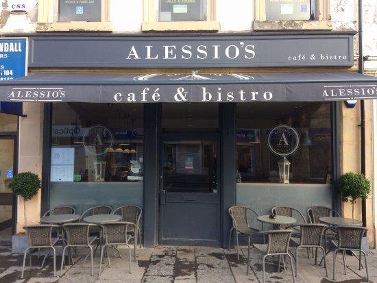 Kirkintilloch, UK: Lovely cappuccino