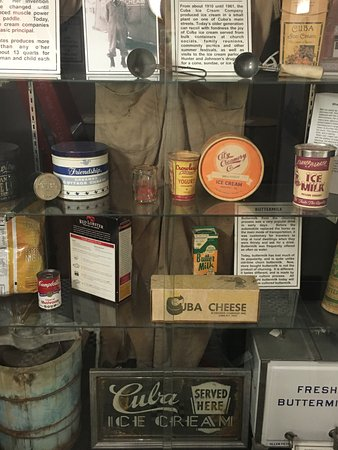Cheese and dairy related products particular to Cuba, NY area