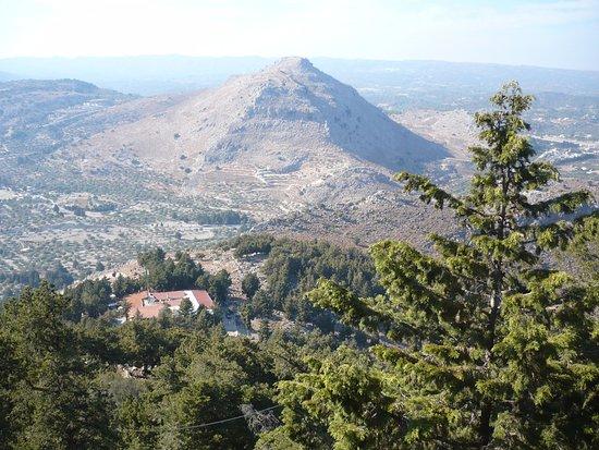 Kolimbia, Grecia: l'intérieur des terres