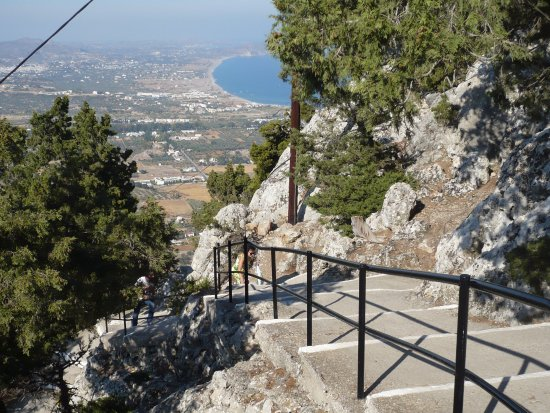 Kolimbia, Grecia: ça grimpe encore et toujours !