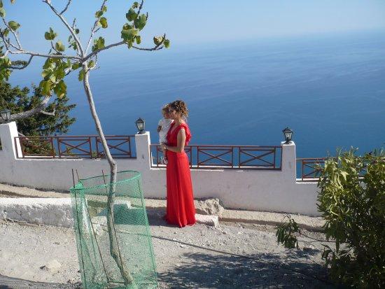 Kolimbia, Grecia: un baptême grec (le dimanche)
