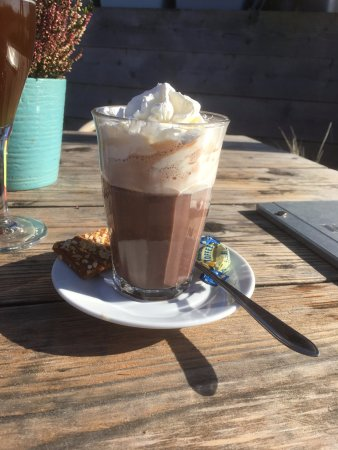 De Cocksdorp, The Netherlands: Hot chocolate with Baileys