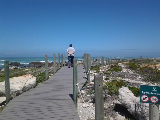 Cape Agulhas, Sudáfrica: Boardwalk