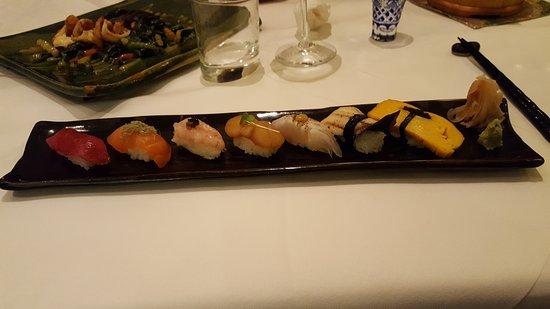 Toshi: Sushi variations