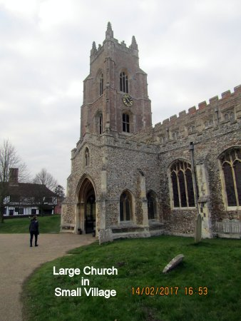 St Mary's Church, Stoke by Nayland.