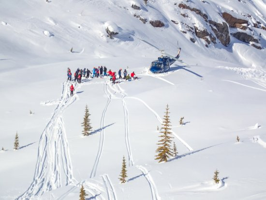 Panorama, Canadá: Out and about - heli skiing